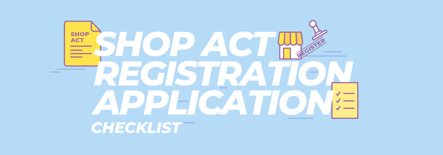Shop Act Registration Checklist